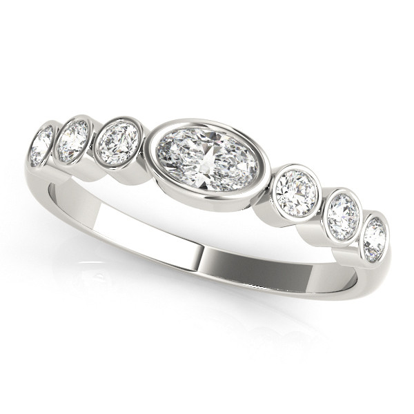 OVAL COLOR CENTER RING